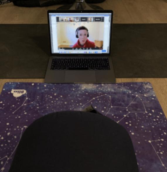 Yoga classes at home