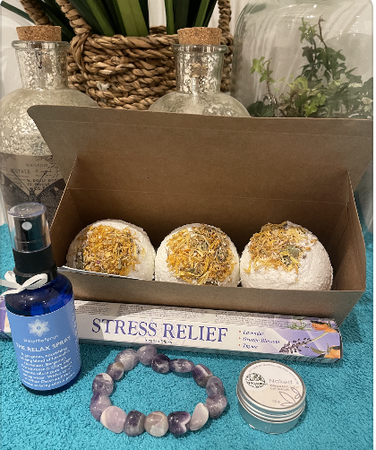 Stress release package