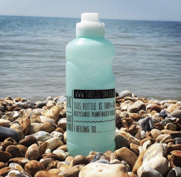 Non plastic water bottle