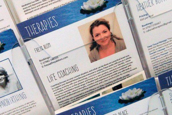 Therapist Brochures
